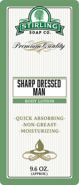 Stirling Soap Co. Sharp Dressed Man Body Lotion