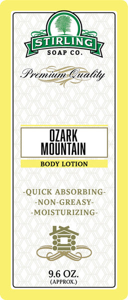 Stirling Soap Co. Ozark Mountain Body Lotion
