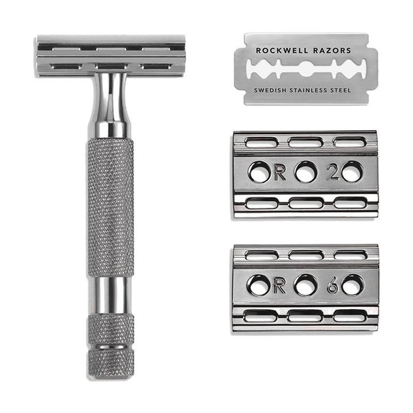 Rockwell 6C Gunmetal Double-Edge Safety Razor