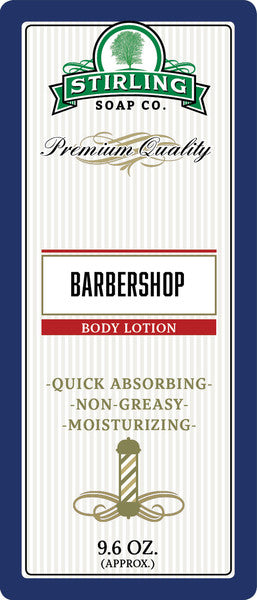 Stirling Soap Co. Barbershop Body Lotion