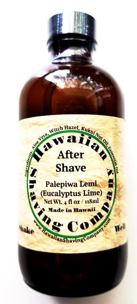 Hawaiian Shaving Company Palepiwa Lemi Aftershave