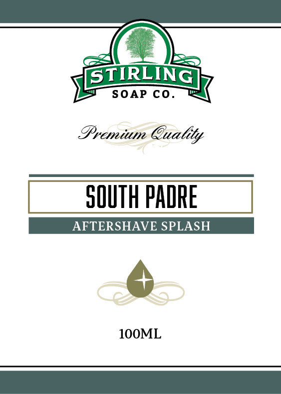 Stirling South Padre Aftershave Splash