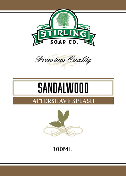 Stirling Sandalwood Aftershave Splash