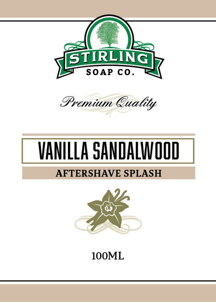 Stirling Vanilla Sandalwood Aftershave Splash