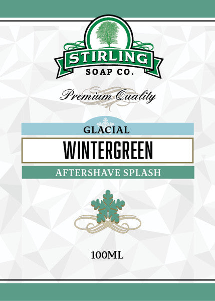 Stirling Glacial Wintergreen Aftershave Splash