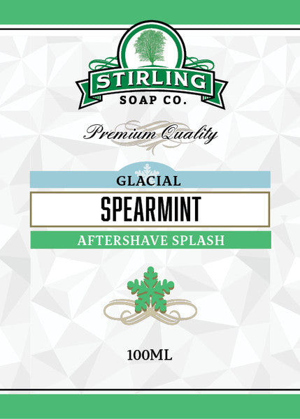 Stirling Glacial Spearmint Aftershave Splash