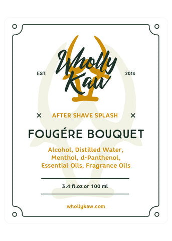 Wholly Kaw Fougere Bouquet Aftershave Splash