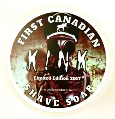 First Canadian Shave Soap Kink 2017 Limited Edition