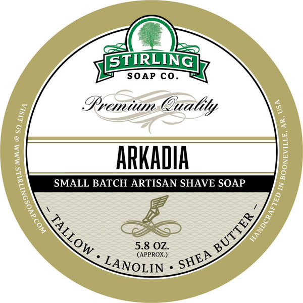 Stirling Soap Co. Arkadia Shave Soap