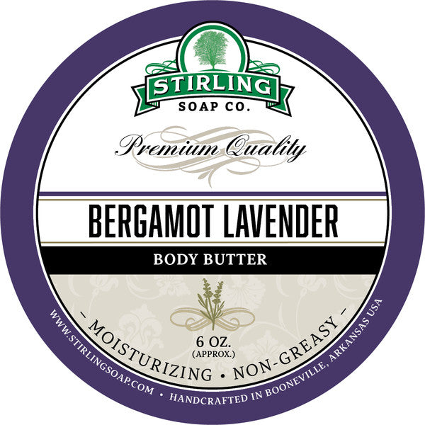 Stirling Soap Co. Bergamot Lavender Body Butter