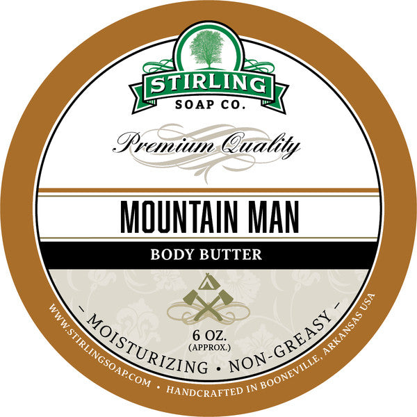 Stirling Soap Co. Mountain Man Body Butter