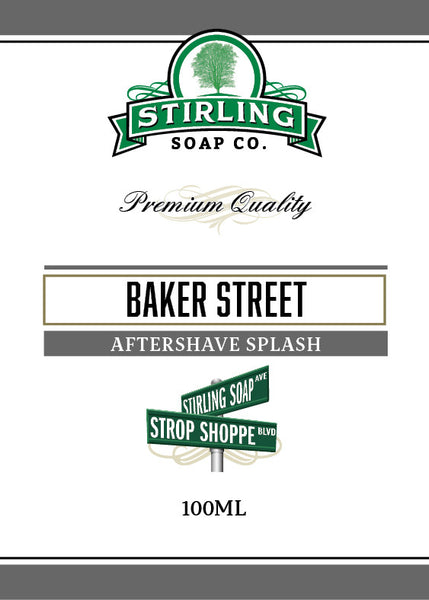 Stirling Baker Street Aftershave Splash