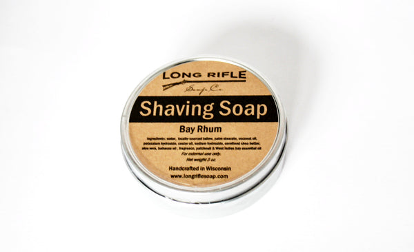 Long Rifle Bay Rhum Shave Soap