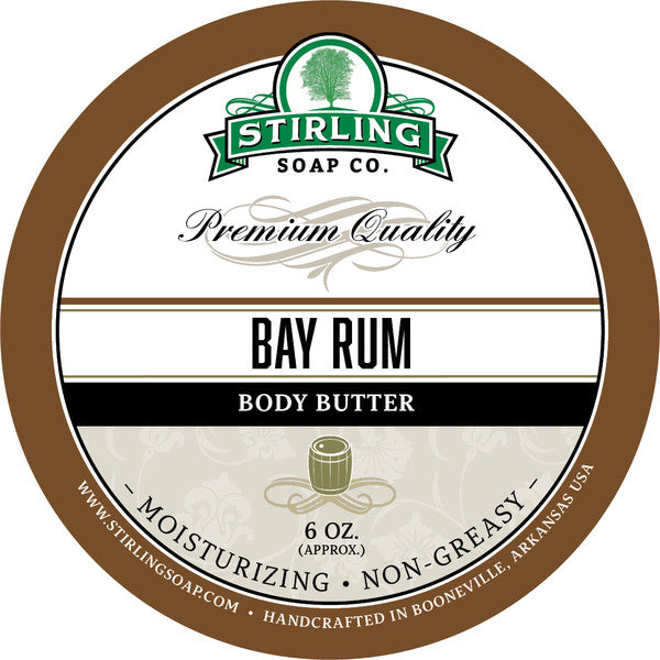 Stirling Soap Co. Bay Rum Body Butter