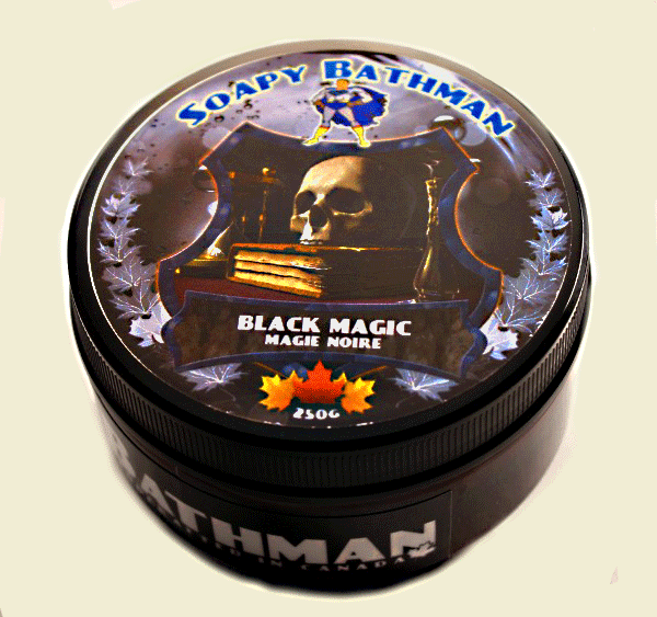 Soapy Bathman Black Magic Shave Soap