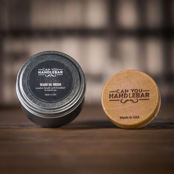 Can You Handlebar Beard Oil Brush