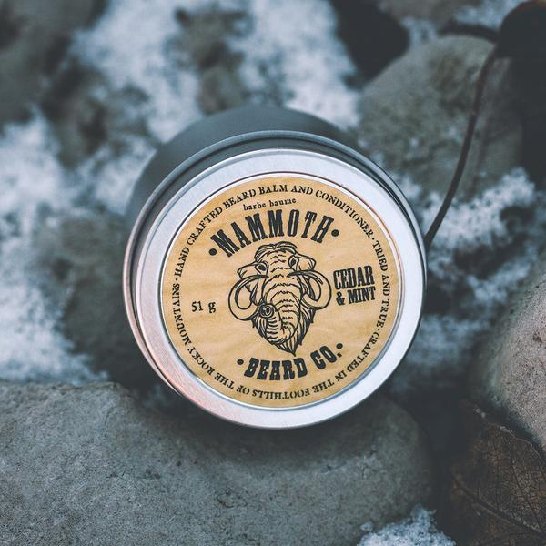 Mammoth Beard Co. Cedar & Mint Beard Balm