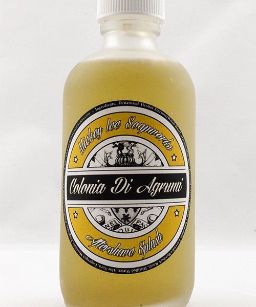 Mickey Lee Soapworks Colonia di Agrumi Aftershave Splash