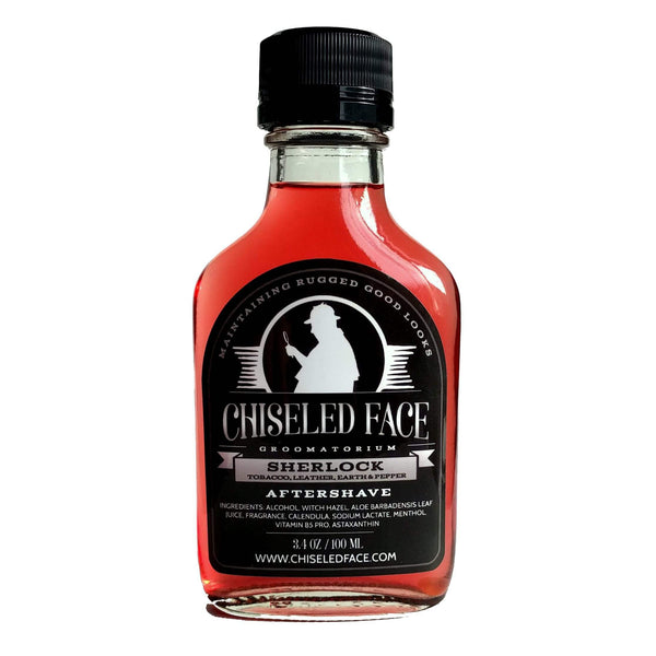Chiseled Face Sherlock Aftershave Splash