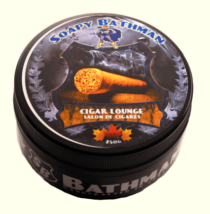 Soapy Bathman Cigar Lounge Shave Soap