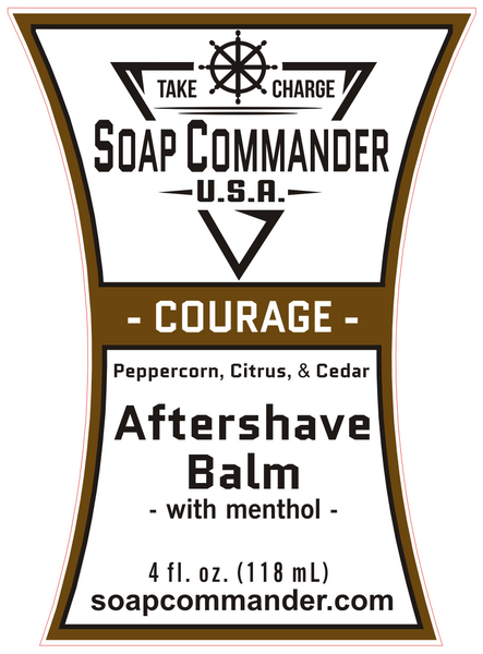Soap Commander Courage Aftershave Balm