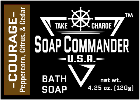 Soap Commander Courage Bath Soap