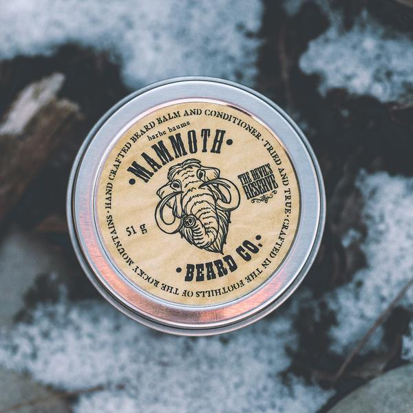 Mammoth Beard Co. Devil's Reserve Beard Balm