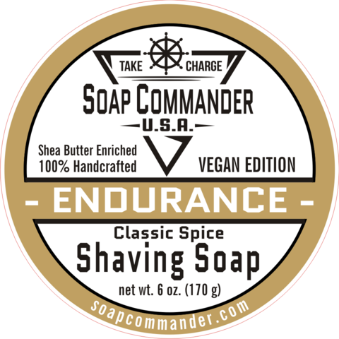 Soap Commander Endurance Shaving Soap