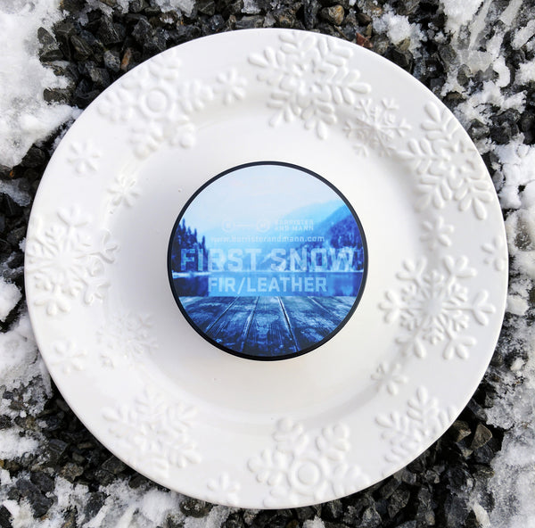 Barrister and Mann First Snow Glissant Shaving Soap
