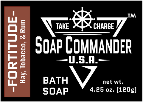 Soap Commander Fortitude Bath Soap