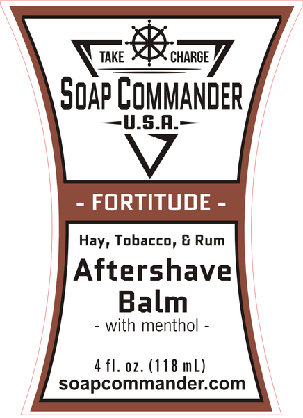 Soap Commander Fortitude Aftershave Balm