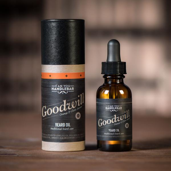 "Can You Handlebar ""Goodwill"" Beard Oil"