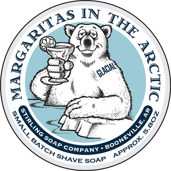 Stirling Soap Co. Glacial Margaritas in the Arctic Shave Soap