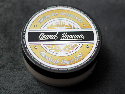Mickey Lee Soapworks Grand Havana Shave Soap