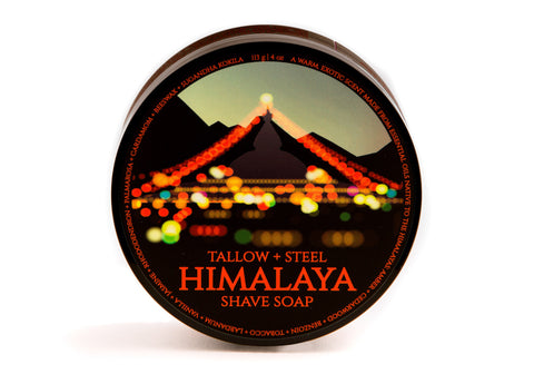 Tallow + Steel Himalaya Shave Soap