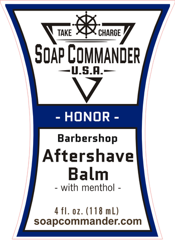 Soap Commander Honor Aftershave Balm