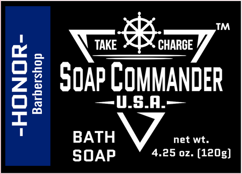 Soap Commander Honor Bath Soap