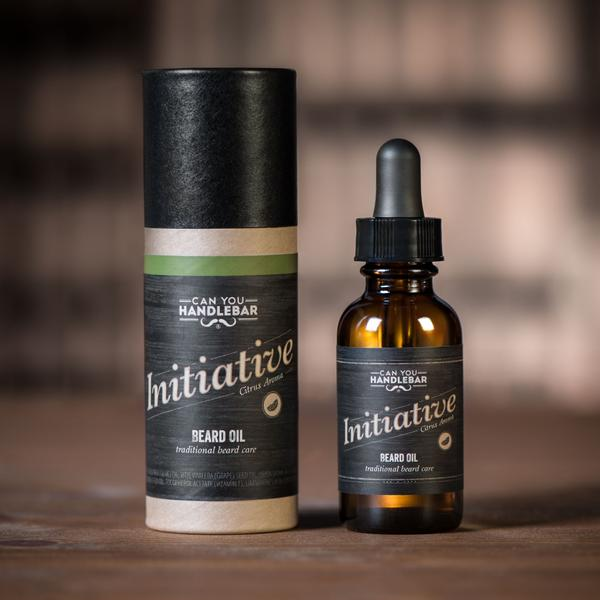 "Can You Handlebar ""Initiative"" Beard Oil"