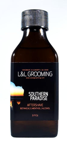 L&L Grooming Southern Paradise Aftershave Splash