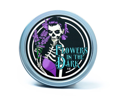 Dr. Jon's Flowers in the Dark Vegan Shaving Soap