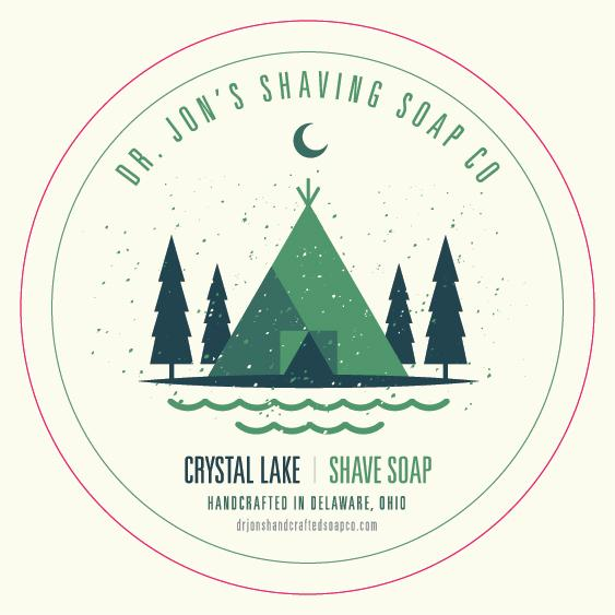 Dr. Jon's Crystal Lake Vegan Shaving Soap Vol. 2