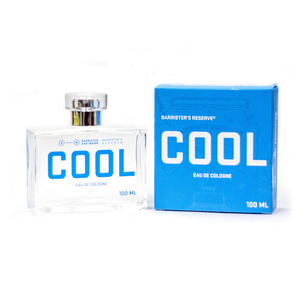 Barrister's Reserve Cool Eau de Cologne, 100ml