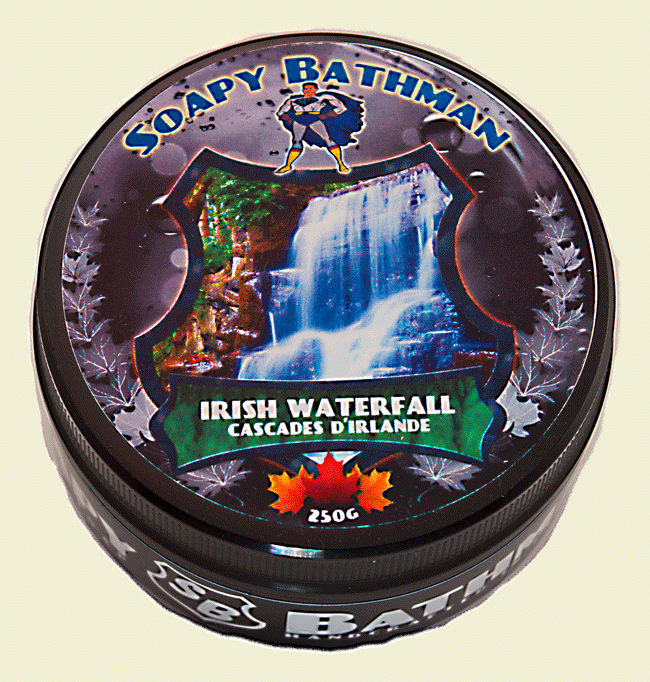Soapy Bathman Irish Waterfalls Shave Soap