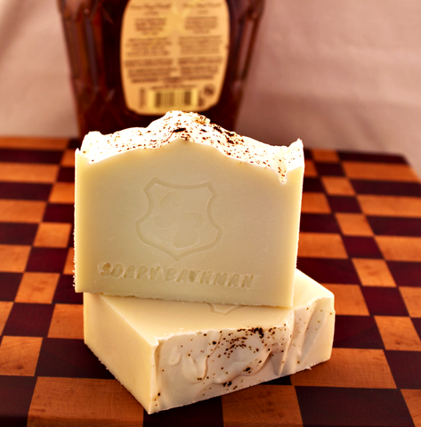 Soapy Bathman Whiskey Lullaby Bar Soap