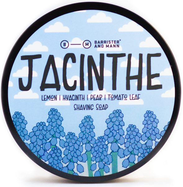 Barrister and Mann Jacinthe Limited Edition Shaving Soap