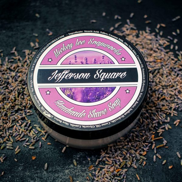 Mickey Lee Soapworks Jefferson Square Shave Soap