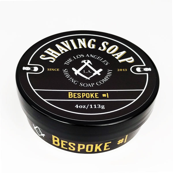 LA Shaving Soap Co.  Bespoke #1 Shaving Soap