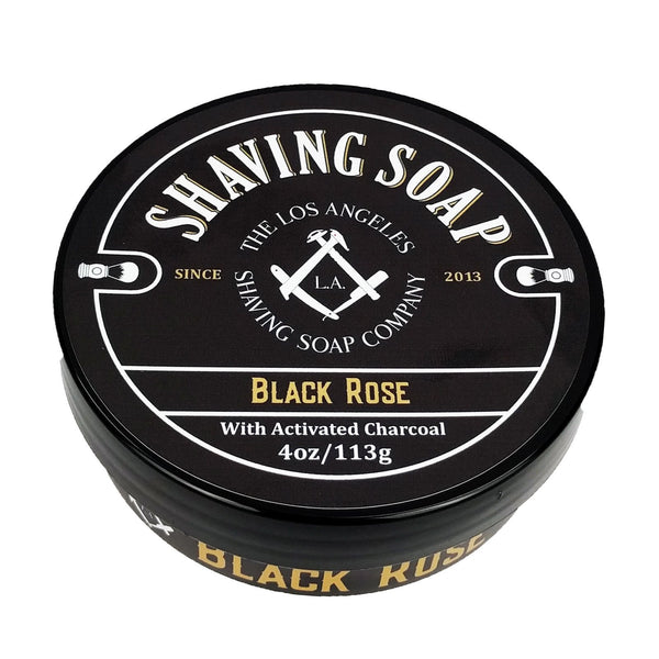 LA Shaving Soap Co. The Black Rose Shaving Soap