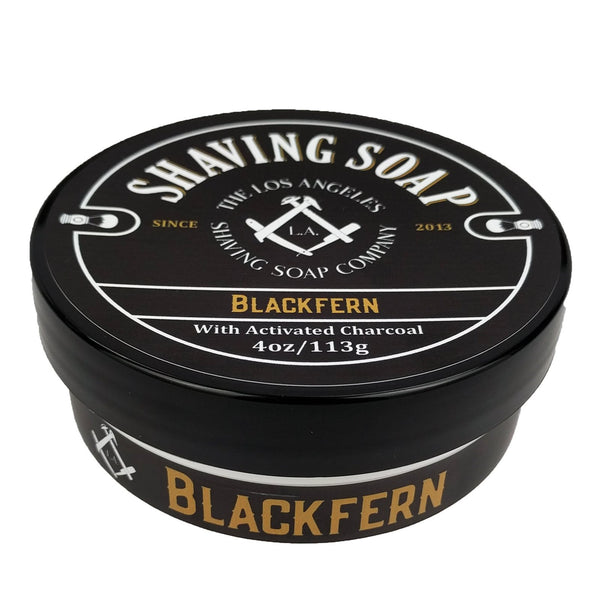 LA Shaving Soap Co. Blackfern Shaving Soap