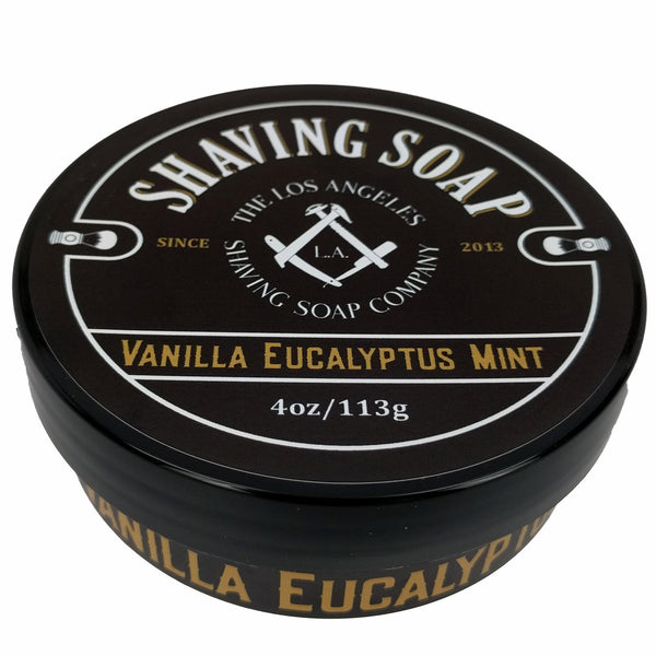 LA Shaving Soap Co. Vanilla/Eucalyptus/Mint Shaving Soap